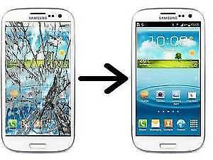 Samsung Galaxy S3 S4 Glass Screen Repair