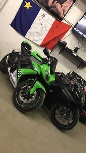 2010 ZX-10R with only 11kms. Trade offers accepted.