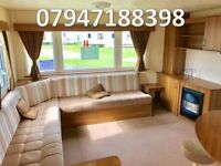 😀😀NO FEES UNTIL 2019 with this static caravan on 5* Facility park on northumberland coast😀😀