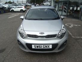 SERVICE HISTORY!! 2011 61 KIA RIO 1.4 2 5D 107 BHP **** GUARANTEED FINANCE **** PART EX WELCOME ****