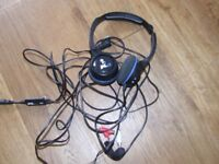 2 sets of PS3 Gaming Headphones