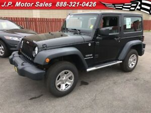 2011 Jeep Wrangler Sport, 6-Speed Manual, Hard Top, 4x4