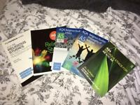 x5 A-level religious studies revision books