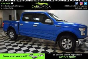 2015 Ford F150 XLT SUPERCREW 4X4- BLUETOOTH* CRUISE*LOW KM