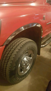 Chrome fender package off of a 2006 dodge 2500