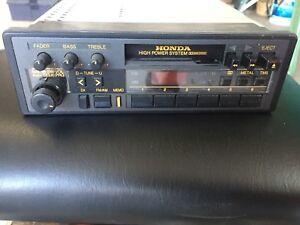 Honda prelude 1986 radio