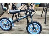 Metal balance bike
