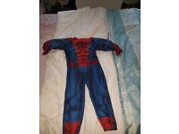 Boys spiderman suit
