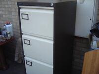 silverline filing cabinet/storage 4 draw unit i knighton leicester