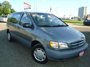 1998 Toyota Sienna CE Only 91km Accident & Rust Free