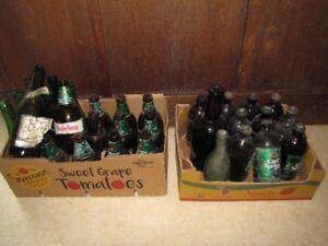 Beer Bottles full & empty
