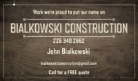 Fence and deck We do it all !! Call today for a free quote!