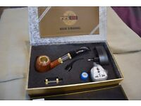 E pipe 618 electronic wood effect pipe vapour brand new boxed unwanted gift