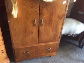 Solid oak cupboard with drawer