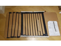 Baby Dan extra wide push fit stair gate - excellent condition
