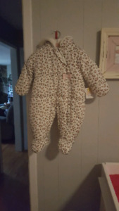 Brand new 6-9 month snowsuit