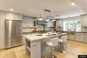 Luxury Maple Cabinets with Amazing Granite &Quartz Countertop