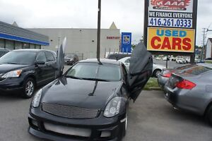 2007 INFINITI G35 SPORT | NAVI | LEATHER | SUNROOF |  SCISSOR DO