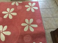 Wool rug. Now reduced