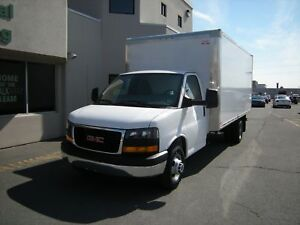 2016 GMC Savana Cube Van 3500 Series with 16' Box