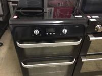 Hotpoint Induction Hub Black HUI612 Electric Cooker