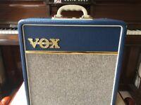 Vox AC4 blue Guitar Amp