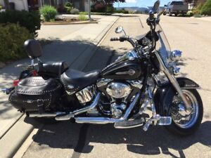 2004 Heritage Softail Classic - Fuel Injected.