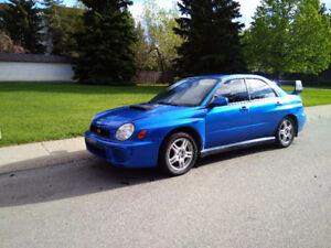 2002 WRB Subaru WRX Sedan NO ACCIDENTS