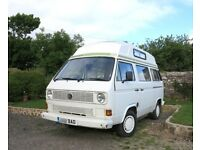 VW T25 Camper Van, 122,000 miles, MOT April 2018, Location - Newquay, Cornwall.