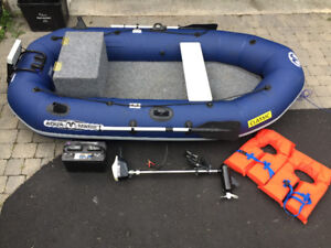 Looking to trade for a full size boat with motor and trailer+$