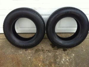 205/70R15 Motomaster AW tires. 85% tread remaining