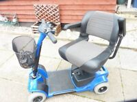 STERLING PRIDE MOBILITY SCOOTER FOLDS DOWN SIMPLY TO FIT IN CAR BOOT, GOOD CONDITION BARGAIN £180