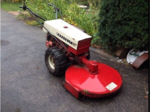 2 Gravely tractors and attachments!
