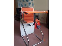 High chair/toddler table