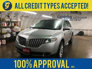 2011 Lincoln MKX*LIMITED*NAVIGATION*LEATHER*PANORAMIC ROOF*