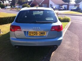 AUDI AVANT A6 limited edition PALE BLUE,LEATHER INTERIOR, 140,OOO MILES, FULL SERVICE HISTORY