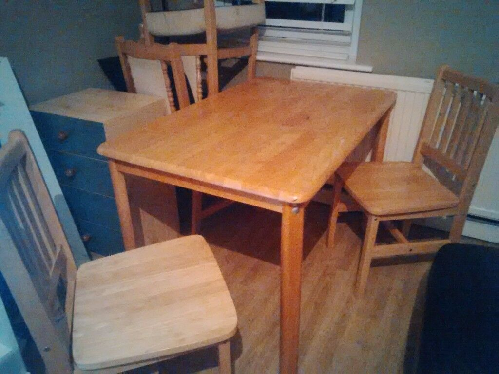 Dining table with 2 chairs (table in fair conditionin Uxbridge, LondonGumtree - Dining table with 2 chairs (table in fair condition) We can deliver for a small fee 07910 747 255