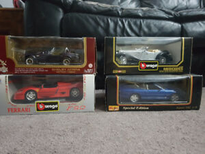 Burago 1:18 scale Diecast Cars @$40.00 each