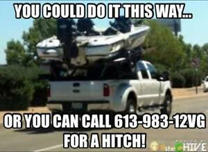 Need a Trailer Hitch!? We have them starting st $249!!