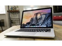 Macbook Pro with retina display. 13 inch. 2015 model. 250gb.