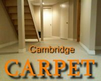 CARPET Re-Stretching, Repair & CARPET Installations too!