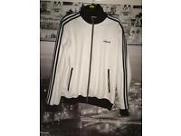 Adidas Originals Vintage Jacket (White Black)