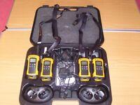 Motorola T80 Extreme Quad Pack Radios