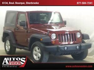 2007 Jeep Wrangler X TRAIL RATED 4 X 4 + 2 PORTES + 2 TOITS