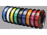 3D printer Filaments Various Brands - Verbatim, HatchBox - PLA and ABS 1.75mm
