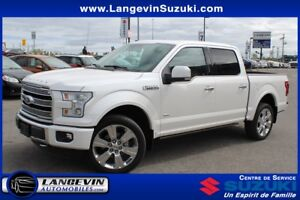 2016 Ford F-150 LIMITED/22 POUCES/CUIR/GPS/TOIT PANORAMIQUE
