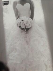 Gorgeous wedding dress size 8-10