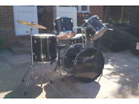 Stagg Drum Kit (Black)