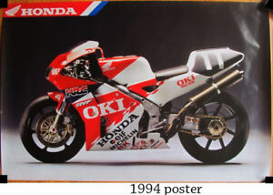 Vintage Honda calendar and posters