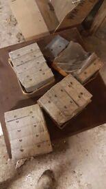 19 Electric boxings double socket casings